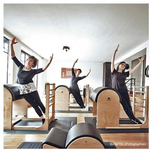 Sylvie Dufour - Cours Pilates Nancy - Barrel